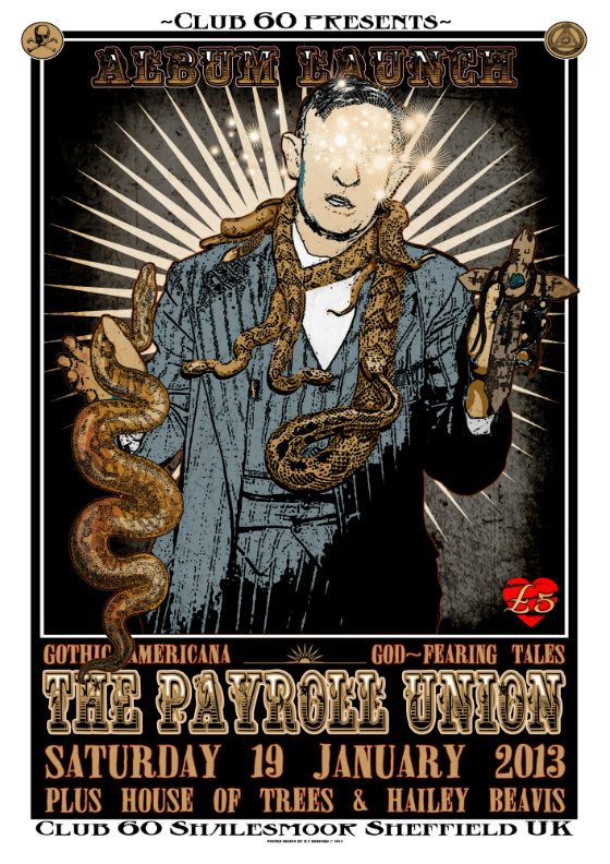 The Payroll Union Club 60 poster