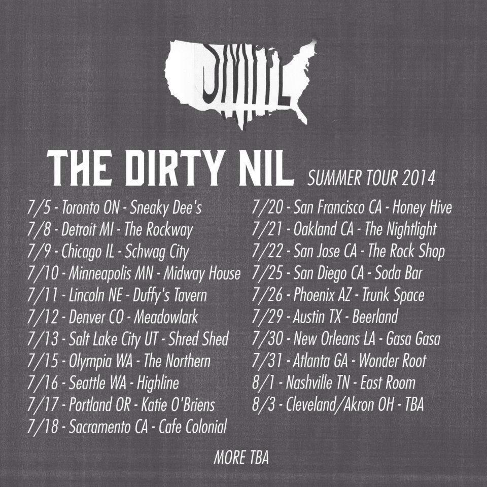 Nil Summer Tour Poster