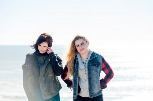 Cassie and Maggie MacDonald. Photo credit: Haley Anne MacPhee